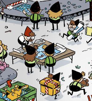Emploi Competences Christmas Card