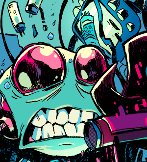 Invader Zim Alternate Cover